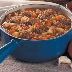 Bavarian Meatball Stew recipe