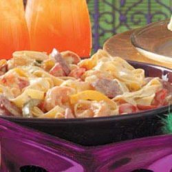 Creole Pasta with Sausage and Shrimp