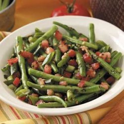 Herbed Tomatoes 'n' Green Beans