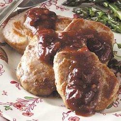 Pork Tenderloin with Cranberries