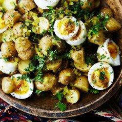 Potato Salad with Mustard Vinaigrette