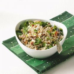 Blue Cheese Orzo Salad recipe