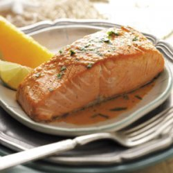 Salmon with Orange Vinaigrette