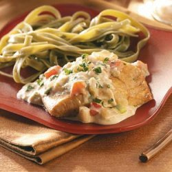 Grouper with Crabmeat Sauce