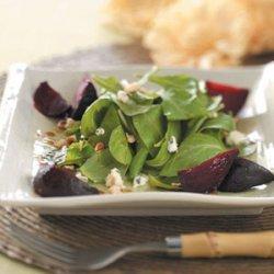 Warm Roasted Beet Salad