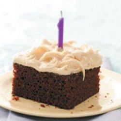 Egg-Free Chocolate Caramel Cake