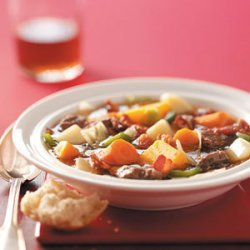 Loaded Vegetable Beef Stew