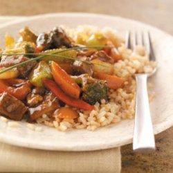 Stir-Fried Steak & Veggies