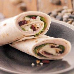 Gourmet Deli Turkey Wraps