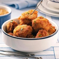 Dutch Meatballs (Bitterballen)