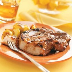 Fruit-Glazed Pork Chops recipe