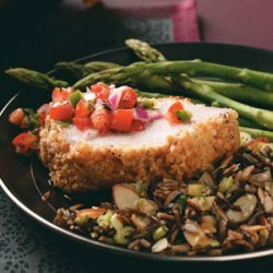 Almond-Crusted Pork Loin