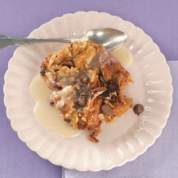 Cinnamon-Toffee Croissant Bread Pudding