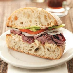 Chipotle Roast Beef Sandwiches
