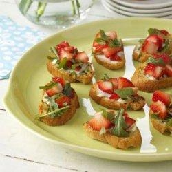 Strawberry Brunch Bruschetta
