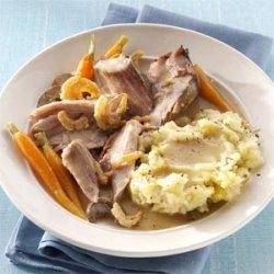 Savory Mushroom & Herb Pork Roast