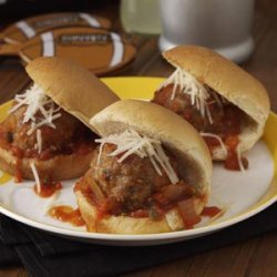 Puttanesca Meatball Sliders