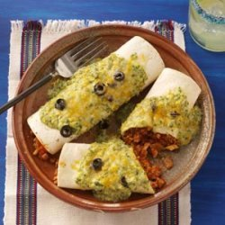 Terrific Turkey Enchiladas
