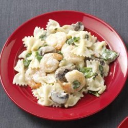 Pasta with Shrimp & Basil