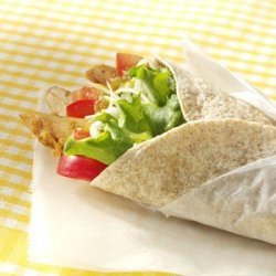 Mango Chicken Wraps
