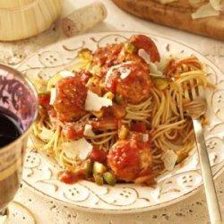 Turkey Meatballs and Sauce