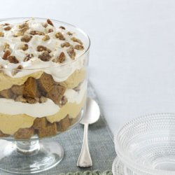 Pumpkin Mousse Trifle