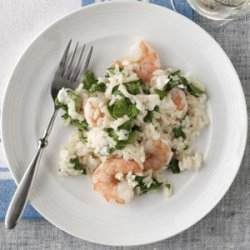 Hearty Shrimp Risotto