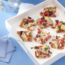 Antipasto Basilico Pizza