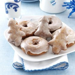 Apple Butter Doughnuts