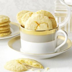 Orange & Lemon Wafer Cookies