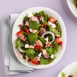 Fresh 'n' Fruity Salmon Salad