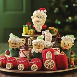 Santa's Workshop Cupcakes recipe