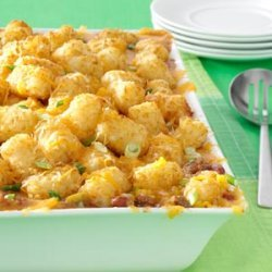 Mexican Tater-Topped Casserole recipe