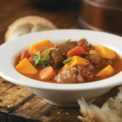 Southwestern Pork and Squash Soup