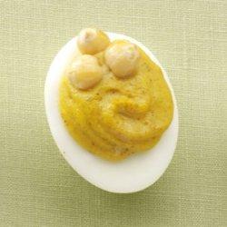 Slim Curried Deviled Eggs