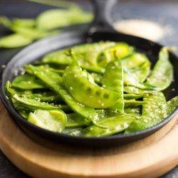 Sesame Snow Peas recipe