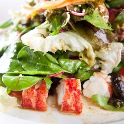 Lobster Salad with Spicy Lemon Dressing