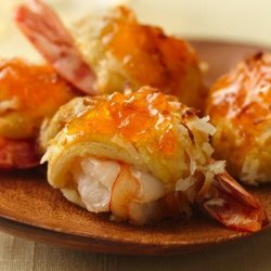 Shrimp and Coconut Rolls