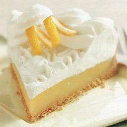 No-Bake Lemon Cream Tart