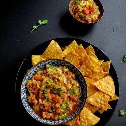 Roasted Tomato and Bell Pepper Salsa
