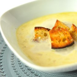 Tom's Tasty Tomato Soup with Brown Butter Croutons