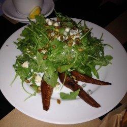 Arugula and Roasted Pear Salad