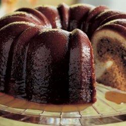 Pecan Molasses Bundt Cake with Bourbon Glaze