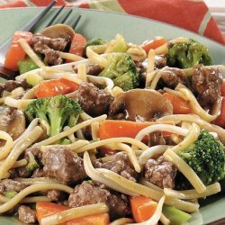 Lo Mein with Beef