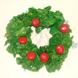 Holly Christmas Cookies