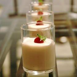 Raspberry White Chocolate Mousse