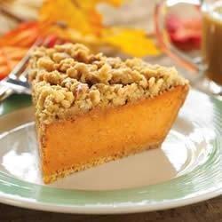 Maple Walnut Pumpkin Pie