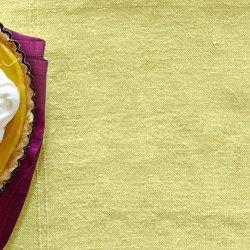 Lemon Curd Tart with Olive Oil