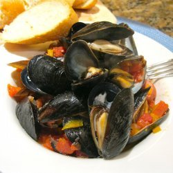 Pasta with Mussels and Chorizo