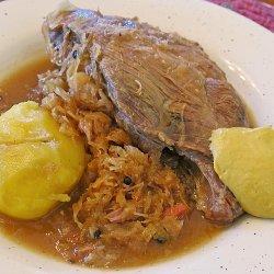 Spareribs and Sauerkraut